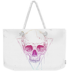 Skull In Triangle Weekender Tote Bag