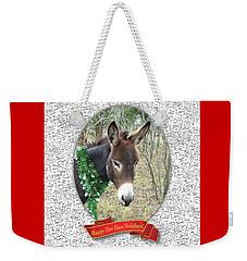 Happy Hee Haw Holidays Weekender Tote Bag