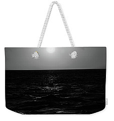 Aruba Sunset In Black And White Weekender Tote Bag