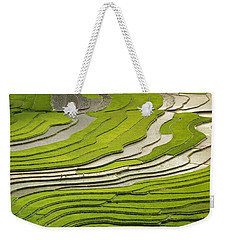 Asian Rice Field Weekender Tote Bag