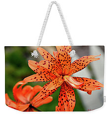Asian Tiger Lily Weekender Tote Bag
