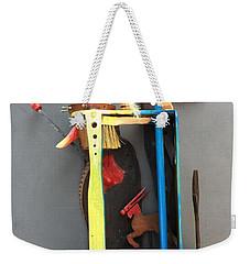 Assemblage #3 Weekender Tote Bag