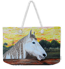 At The Farm Weekender Tote Bag