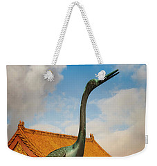 At The Forbidden City Weekender Tote Bag