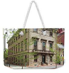 Athenaeum Exterior Weekender Tote Bag