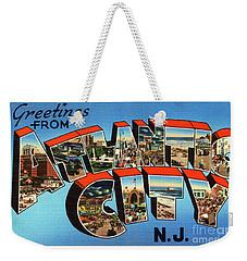 Atlantic City Greetings #3 Weekender Tote Bag