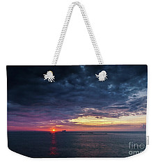 Weekender Tote Bag featuring the photograph Atlantic Ocean Sunset by Pablo Avanzini