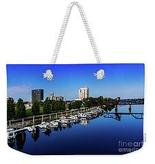 Augusta Ga Savannah River 2 Weekender Tote Bag