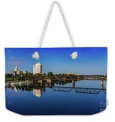 Augusta Ga Savannah River Panorama Weekender Tote Bag
