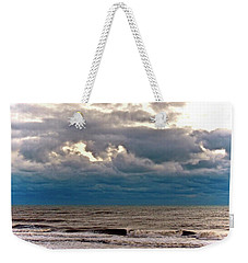 Weekender Tote Bag featuring the photograph Autumn Air by Don Moore