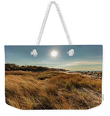 Autumn At The Beach Cape Cod Weekender Tote Bag