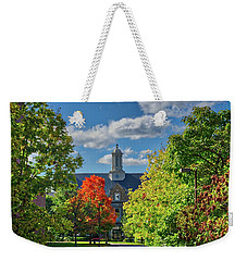 Weekender Tote Bag featuring the photograph Autumn Beauty At Cornell University - Ithaca, New York by Lynn Bauer