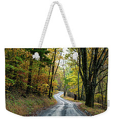 Autumn Begins  Weekender Tote Bag
