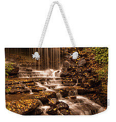Weekender Tote Bag featuring the photograph Autumn Foliage At West Milton by Dan Sproul