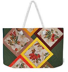 Autumn Fruit And Leaves Weekender Tote Bag