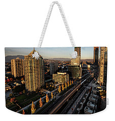Autumn In Burnaby Weekender Tote Bag