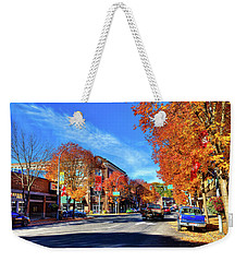 Weekender Tote Bag featuring the photograph Autumn In Pullman by David Patterson