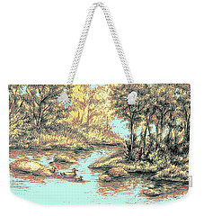 Autumn Is Here Weekender Tote Bag