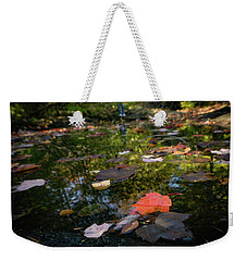 Autumn Leaf Weekender Tote Bag