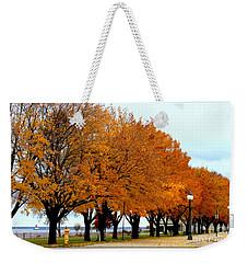 Autumn Leaves In Menominee Michigan Weekender Tote Bag