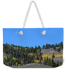 Weekender Tote Bag featuring the photograph Autumn Moon by James BO Insogna