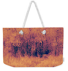 Autumn Mystery Weekender Tote Bag