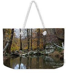 Autumn On The Kings River Weekender Tote Bag