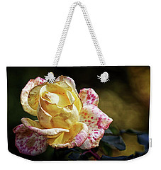 Autumn Rose Weekender Tote Bag