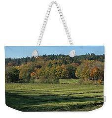 Autumn Scenery Weekender Tote Bag