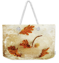 Weekender Tote Bag featuring the photograph Autumn Twist by Randi Grace Nilsberg