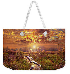 Weekender Tote Bag featuring the photograph Autumn Wings by Phil Koch