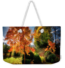 Weekender Tote Bag featuring the photograph Autumnal Glory by Edmund Nagele