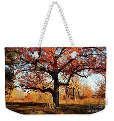 Autumns Paint Brush Weekender Tote Bag