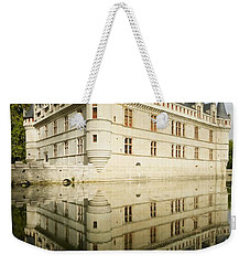 Weekender Tote Bag featuring the photograph Azay-le-rideau by Stephen Taylor
