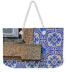 Azulejo Tile Of Portugal Weekender Tote Bag