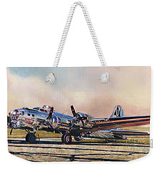 B-17g Sentimental Journey Weekender Tote Bag