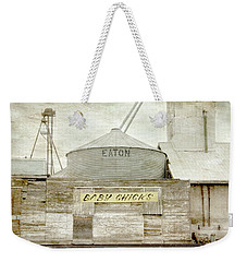 Baby Chicks Feed And Seed Store Weekender Tote Bag