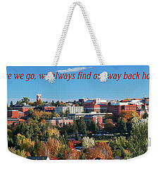 Weekender Tote Bag featuring the photograph Back Home 2 by David Patterson