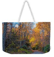 Back Road Beauty Weekender Tote Bag