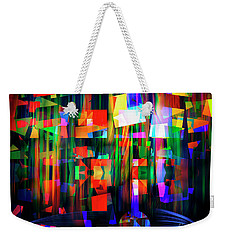 Weekender Tote Bag featuring the digital art Back To The Future by Edmund Nagele