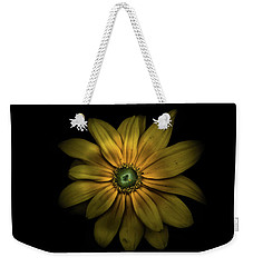 Weekender Tote Bag featuring the photograph Backyard Flowers 34 Color Version by Brian Carson