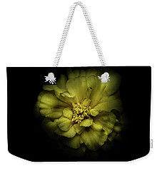 Weekender Tote Bag featuring the photograph Backyard Flowers 41 Color Version by Brian Carson
