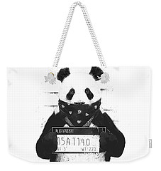 Bad Panda Weekender Tote Bag