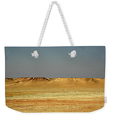 Weekender Tote Bag featuring the photograph Baked Sahara Desert by Mark Duehmig