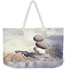 Weekender Tote Bag featuring the digital art Balance by Pennie McCracken