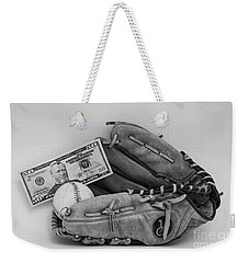 Ball And Glove Weekender Tote Bag