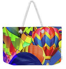 Balloon Festival Weekender Tote Bag