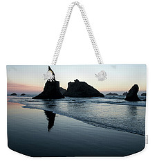 Weekender Tote Bag featuring the photograph Bandon By The Sea 102018 by Rospotte Photography