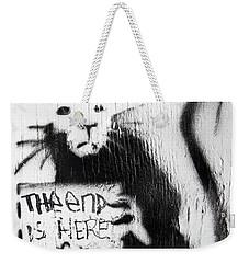 Banksy Rat The End Is Here Weekender Tote Bag