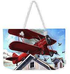 Barn Stormer - Customizeable Weekender Tote Bag